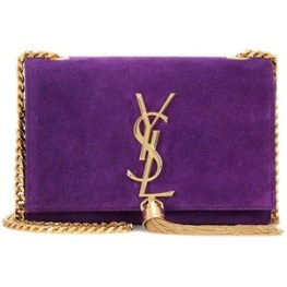 YSL Purple Bag