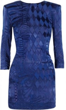 Balmain Blue Dress