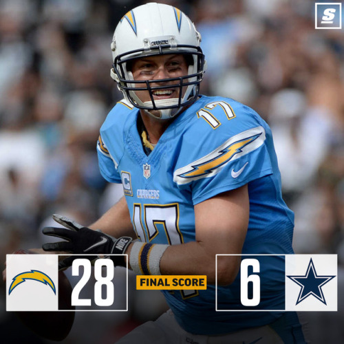 factory price acb5f b8dca Chargers Stuff Cowboys For Thanksgiving Day Win | Suave Report