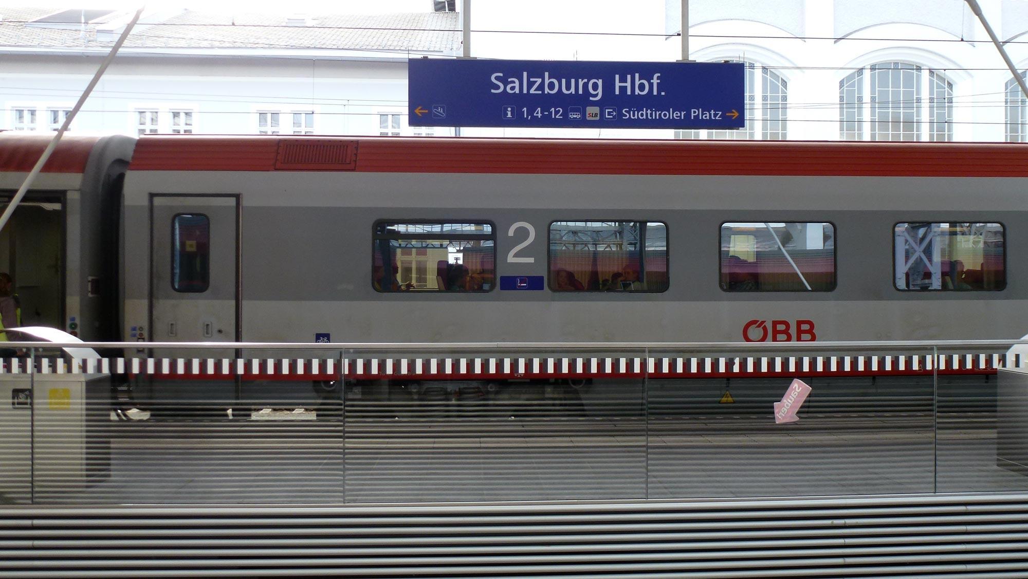 Giorno 1: Milano–Salisburgo