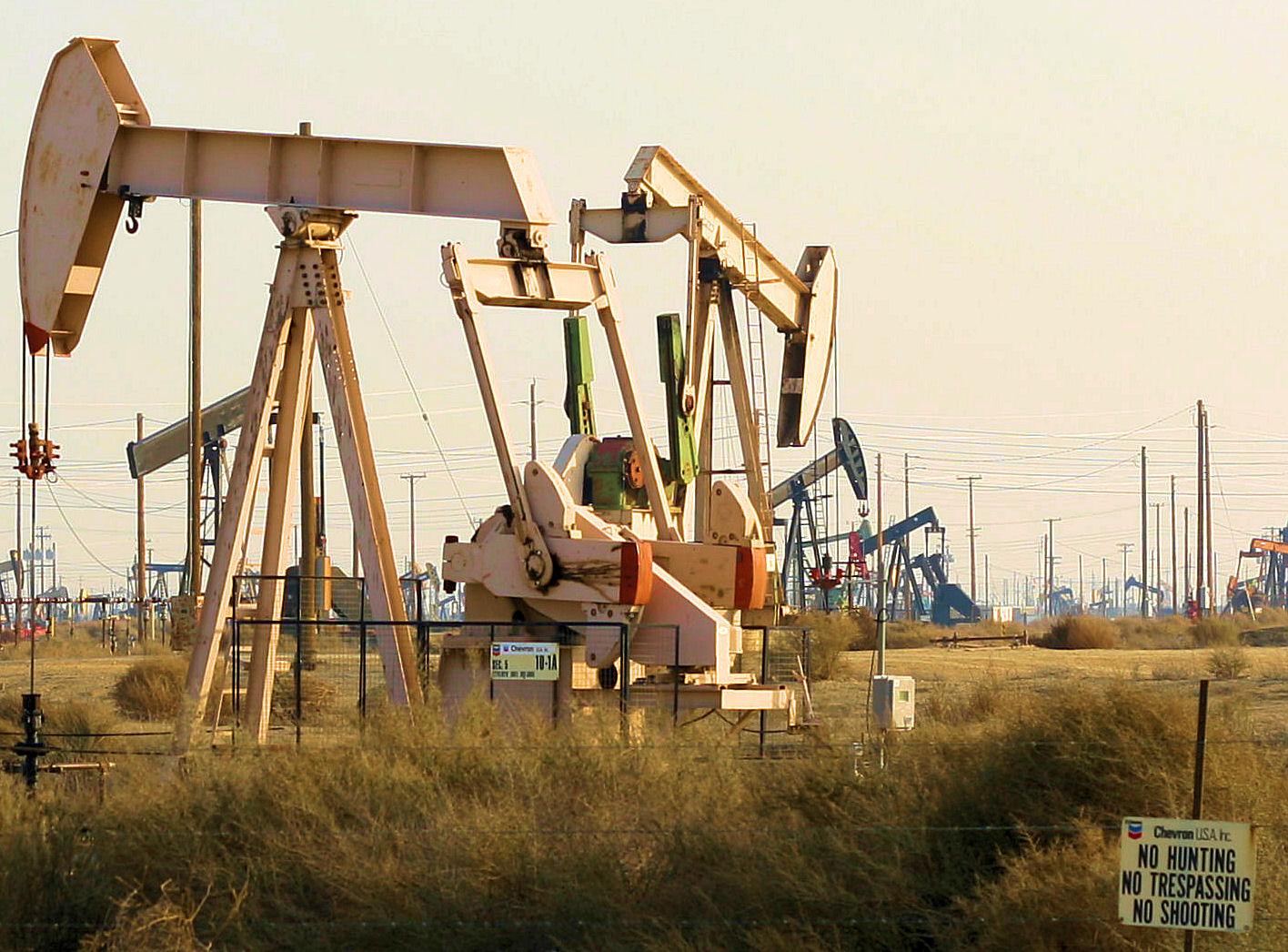 Essere un petroliere in California