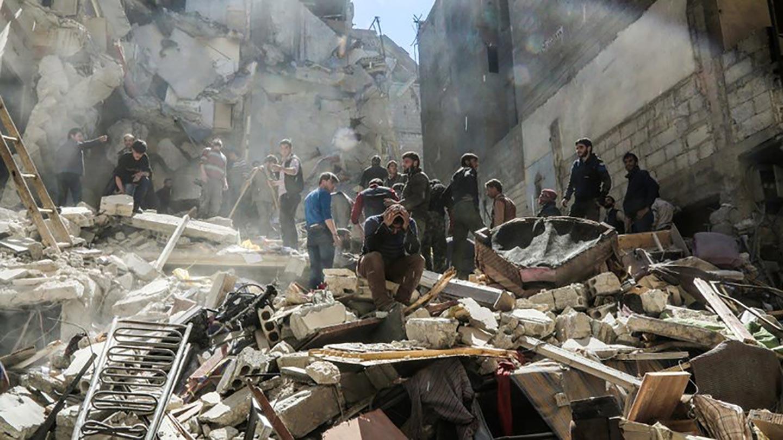 La propaganda sull'attacco chimico di Khan Sheikhoun in Siria