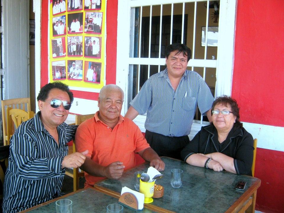 José Carballo, Juan Campos Munoz, Jorge Carballo, Dina de Campos