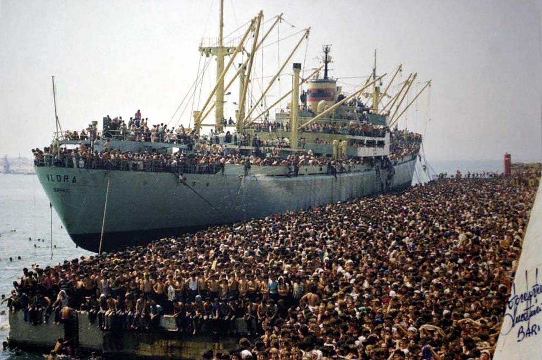 Cosa si diceva degli immigrati albanesi 26 anni fa