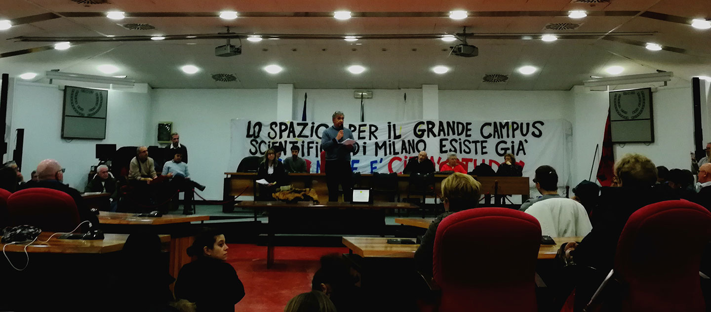 La mobilitazione contro il trasferimento di Città Studi a Expo non si ferma
