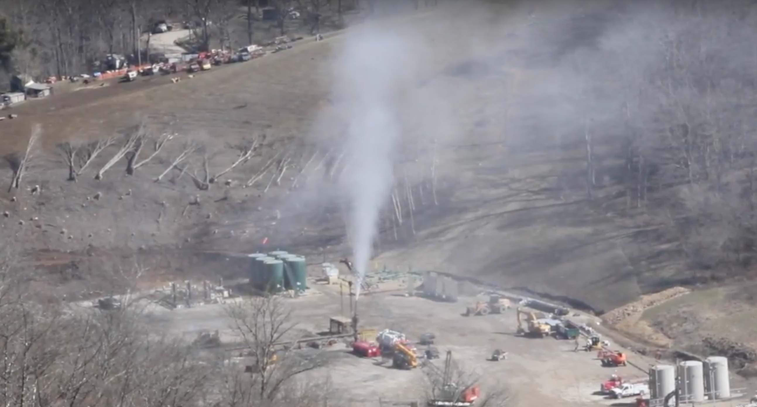 In Ohio si è verificata una delle più gravi perdite di gas naturale