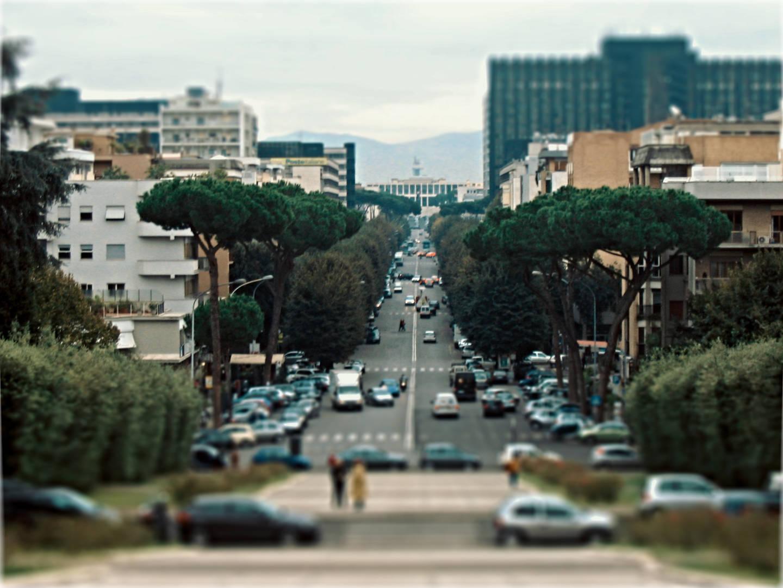 Dove avvengono piú incidenti stradali a Roma?