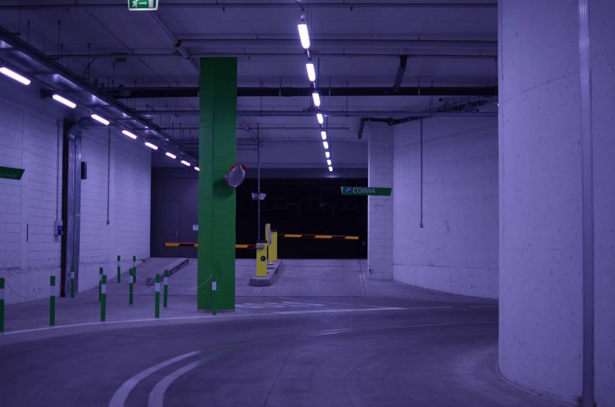 Il parcheggio di COIMA