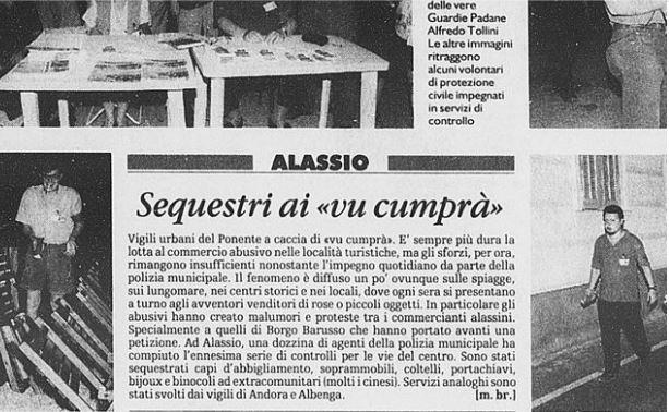 Da La Stampa, 21/07/1999