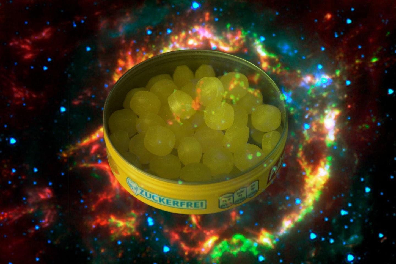 Che mangino caramelle al limone