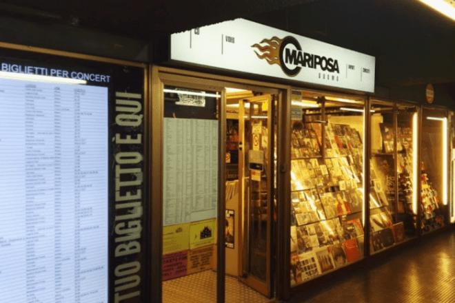 A Milano ha chiuso Mariposa Duomo, lo storico negozio di dischi