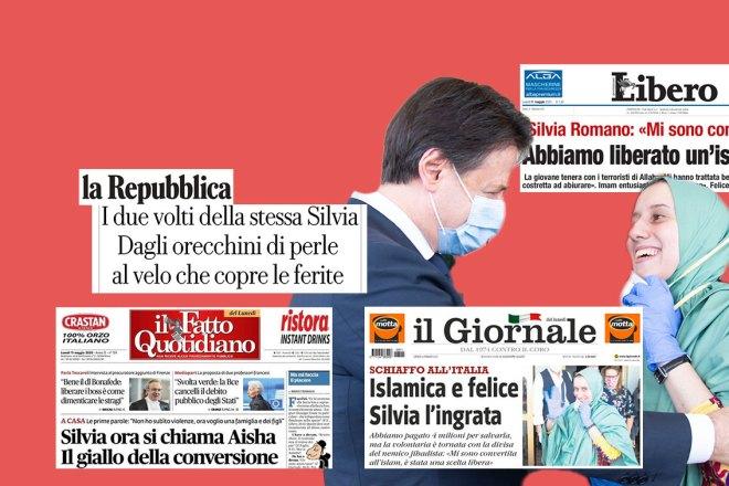 Su Silvia Romano la stampa italiana ha perso un'altra occasione per non fare schifo