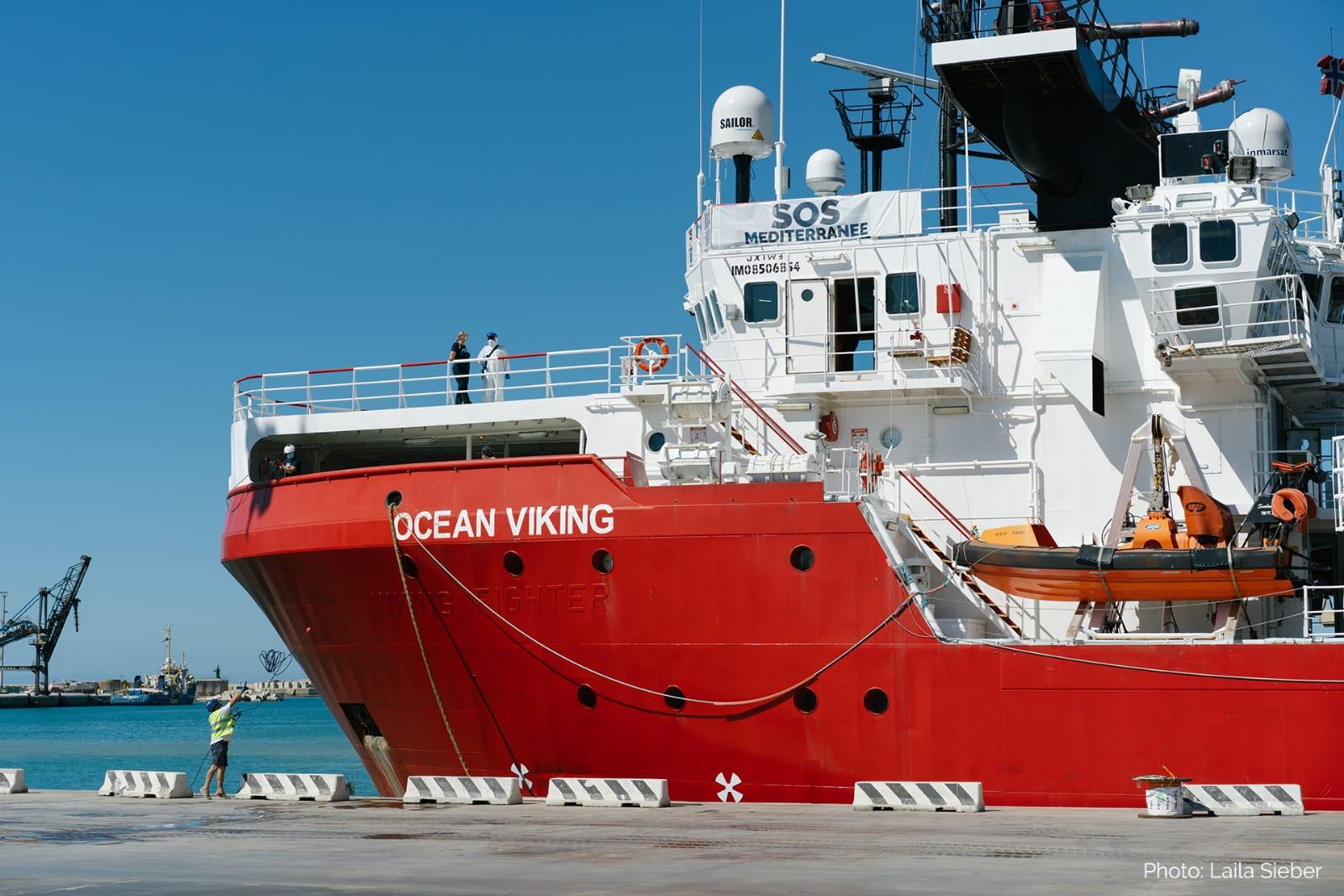 Anche la Ocean Viking è stata sottoposta a fermo amministrativo