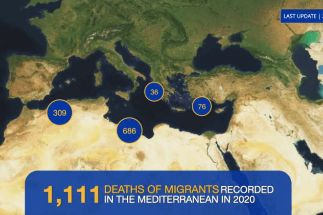 Almeno 20 persone sono morte in un naufragio al largo della Tunisia