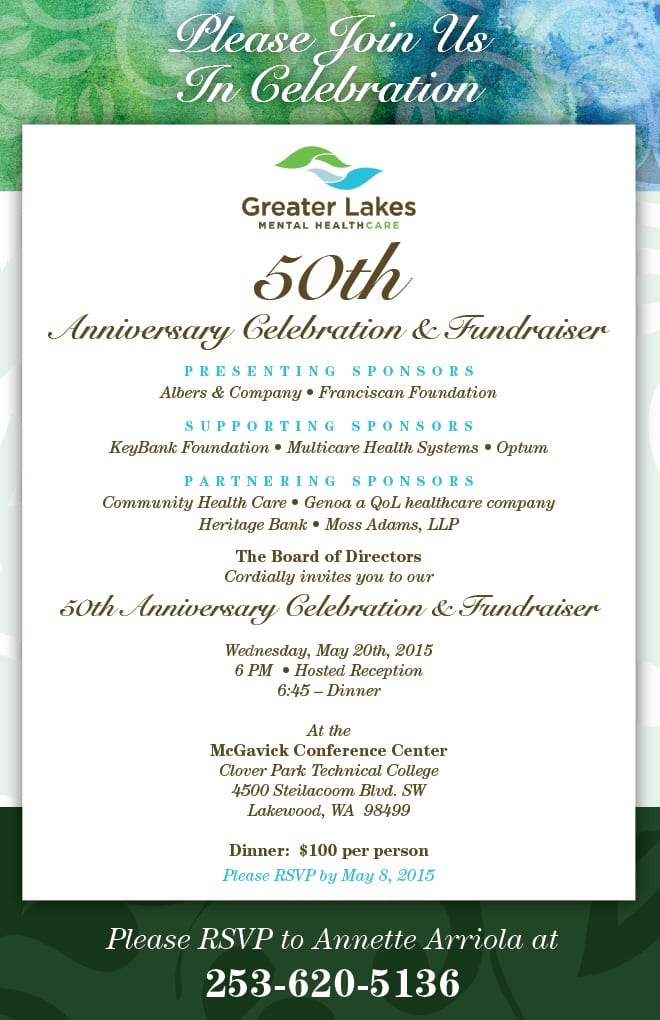 Westside Story Greater Lakes Mental Healthcare 50th Anniversary