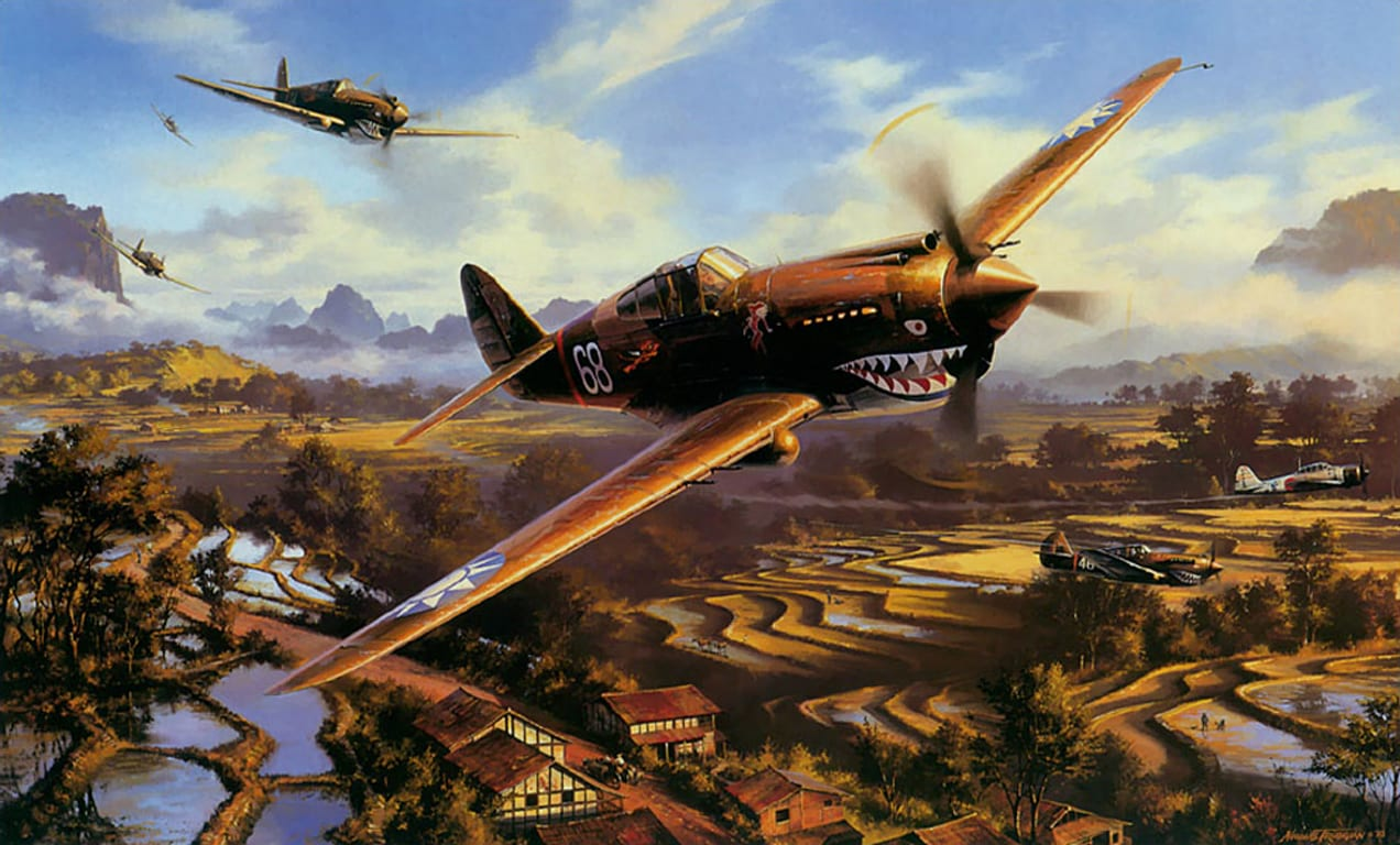 Wwii Famous Paintings Th Army Air Corps