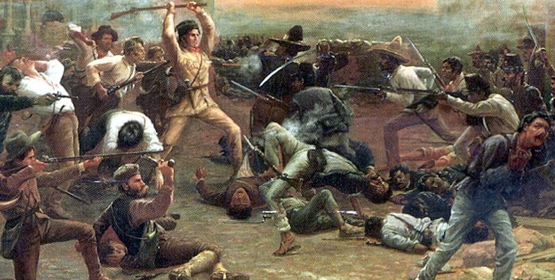 Some Americans Mostly White Americans Including A Few Celebrities Joined Them At The Alamo Where They Killed Hundreds Of Other Mexicans And Ended Up