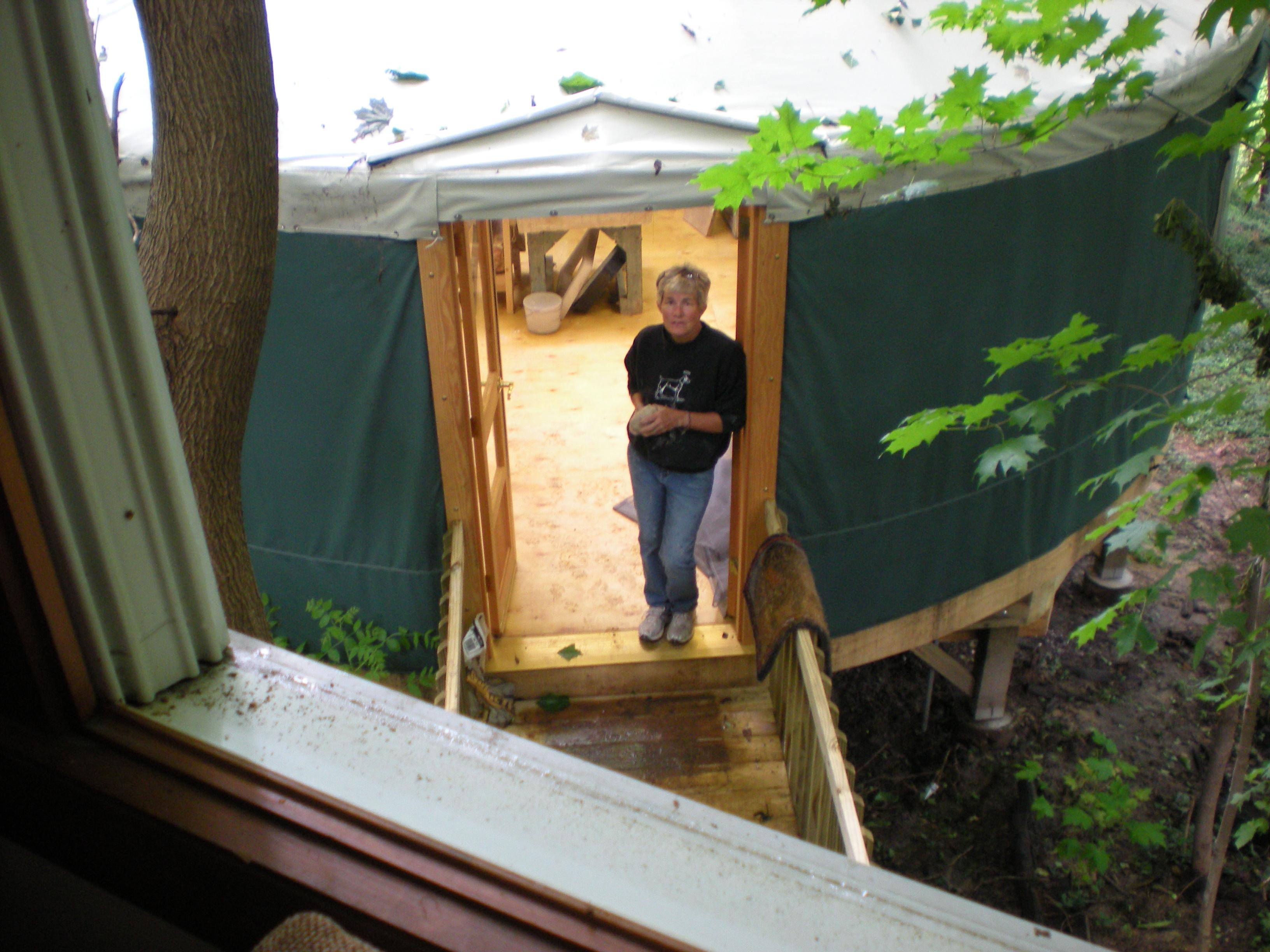 Yurt door 005