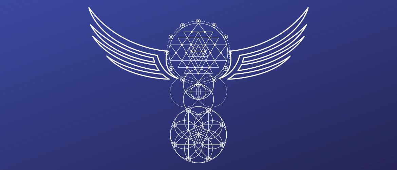 Sacred Geometry Totem Pole