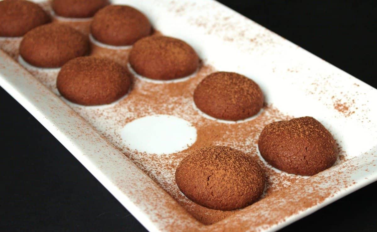 The Twelve Days Of Cookies Chocolate Shortbread Bites The