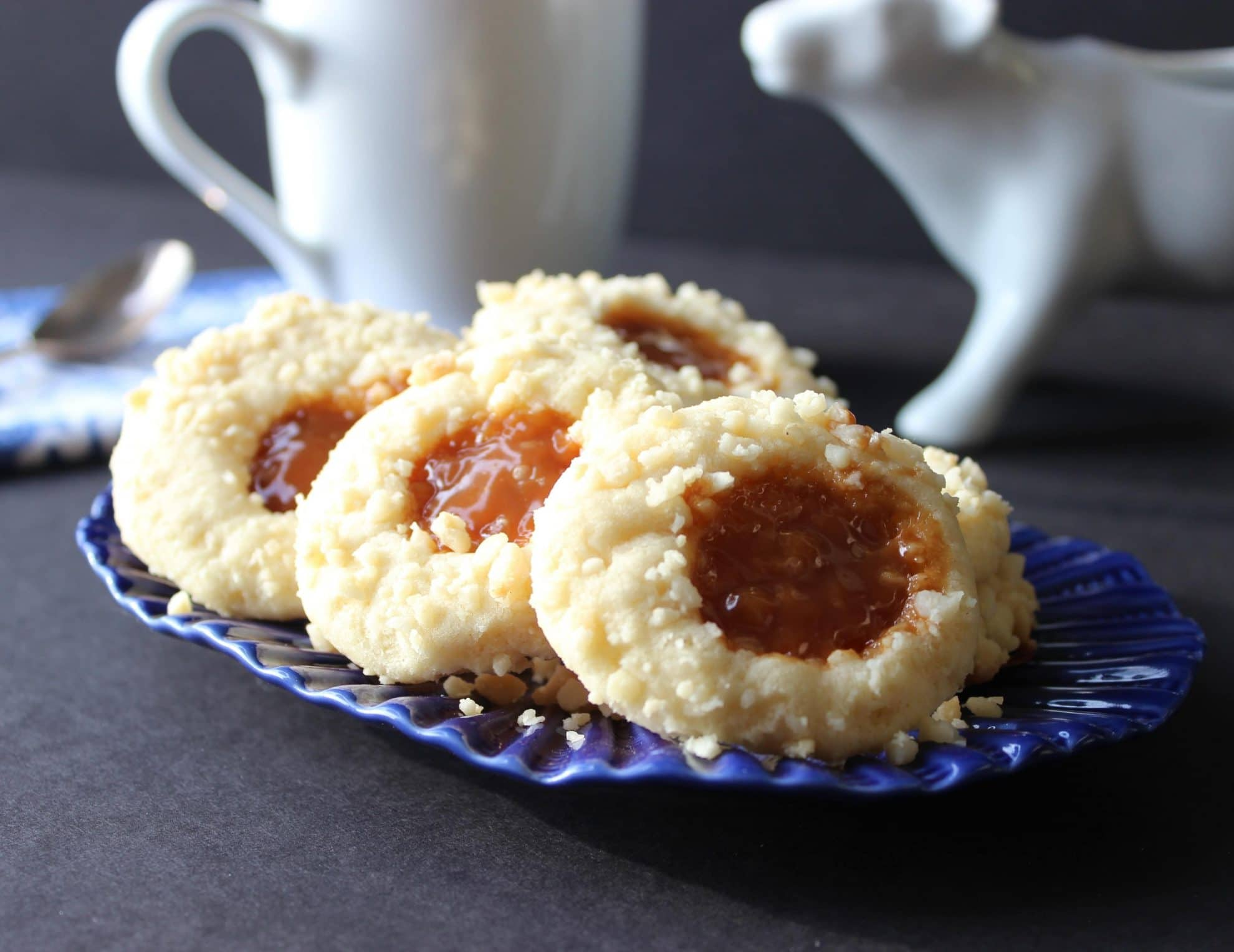 Macadamia Butter and Caramel Cookies