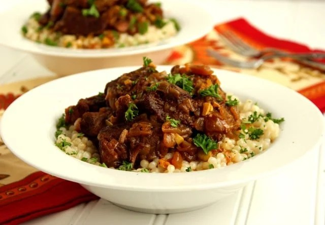 Slow Cooker Thai Red Curry Beef