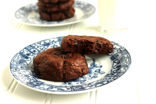 The Best Chocolate-Chocolate Chunk Cookies