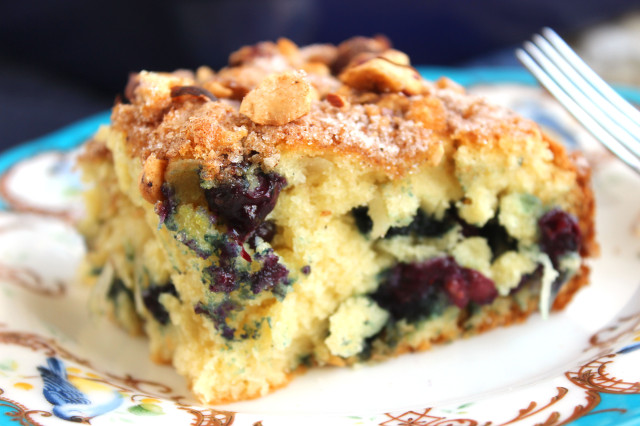 Blueberry Coconut Yogurt Coffee Cake | The Suburban Soapbox
