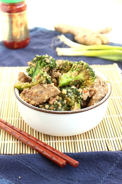 Beef Broccoli and Quinoa Stir-Fry | The Suburban Soapbox