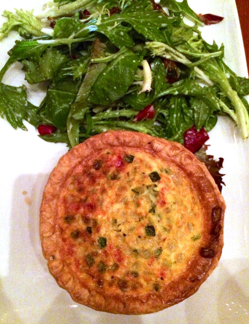 Vegetable Quiche at Be Our Guest | The Suburban Soapbox