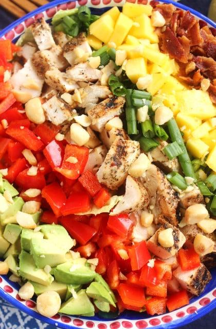 Caribbean Cobb Salad 7Caribbean Cobb Salad with Fire-Roasted Vinaigrette | The Suburban Soapbox