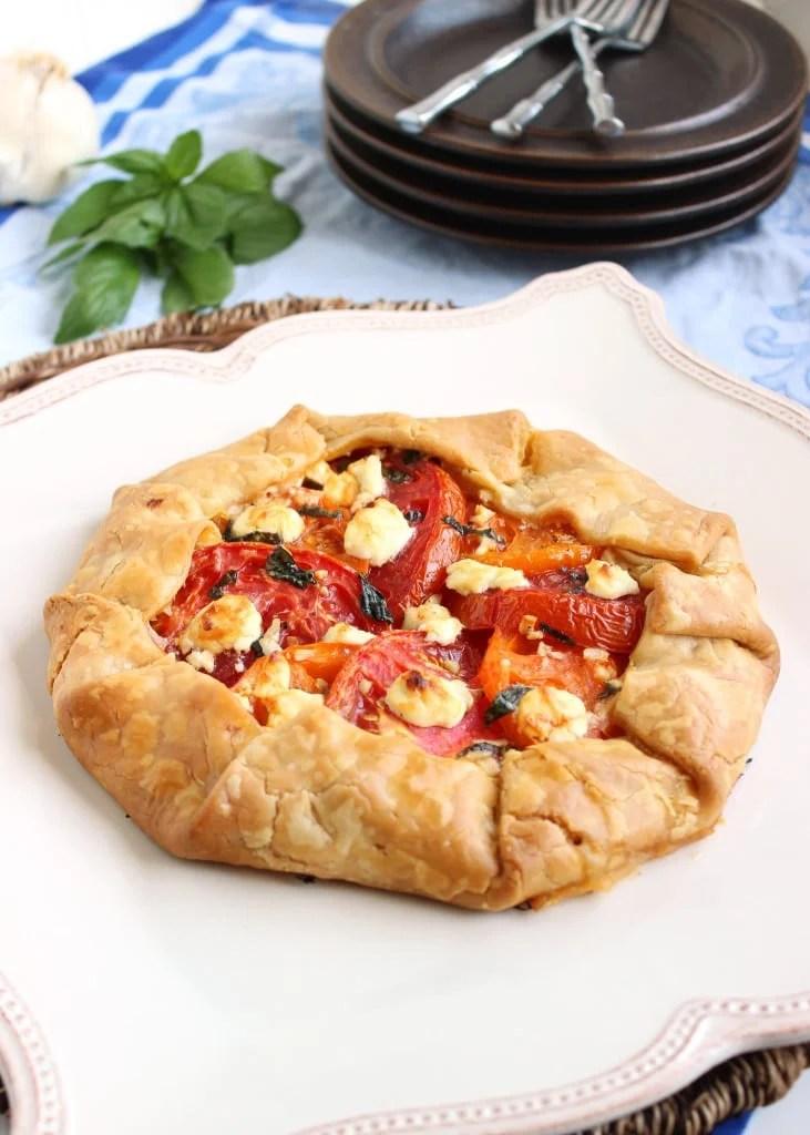 Tomato and Goat Cheese Crostata | The Suburban Soapbox