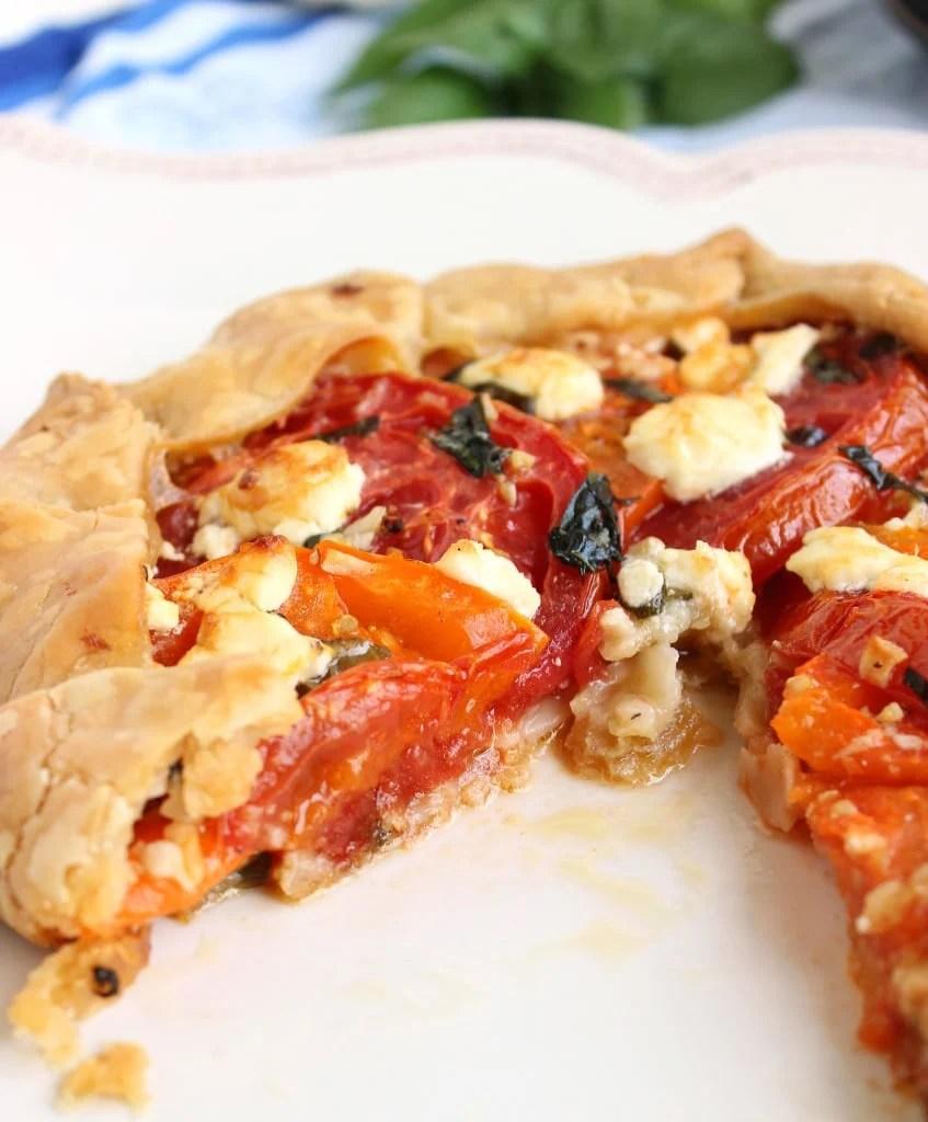 Tomato Crostata 8Tomato and Goat Cheese Crostata | The Suburban Soapbox