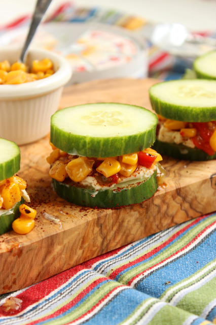 Southwest Cucumber Sandwiches | The Suburban Soapbox