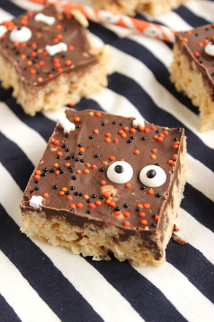 Chocolate Covered Rice Krispie Peeps | The Suburban Soapbox