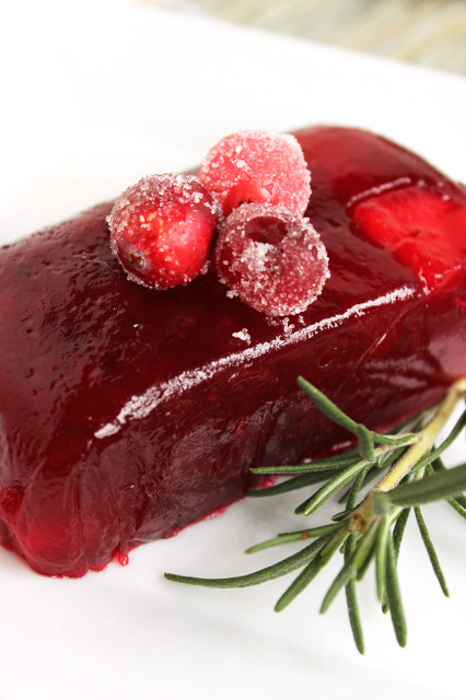 Jellied Cranberry Sauce | The Suburban Soapbox