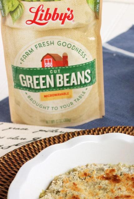 Easy Cheesy Green Bean Casserole | The Suburban Soapbox
