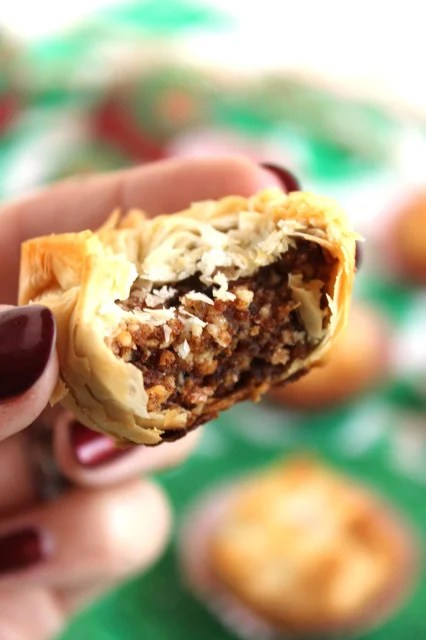 Triple Berry Baklava Bites | The Suburban Soapbox