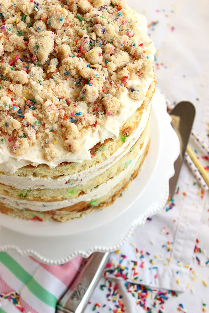 MilkBar Birthday Layer Cake | The Suburban Soapbox #birthdaycake #milkbar