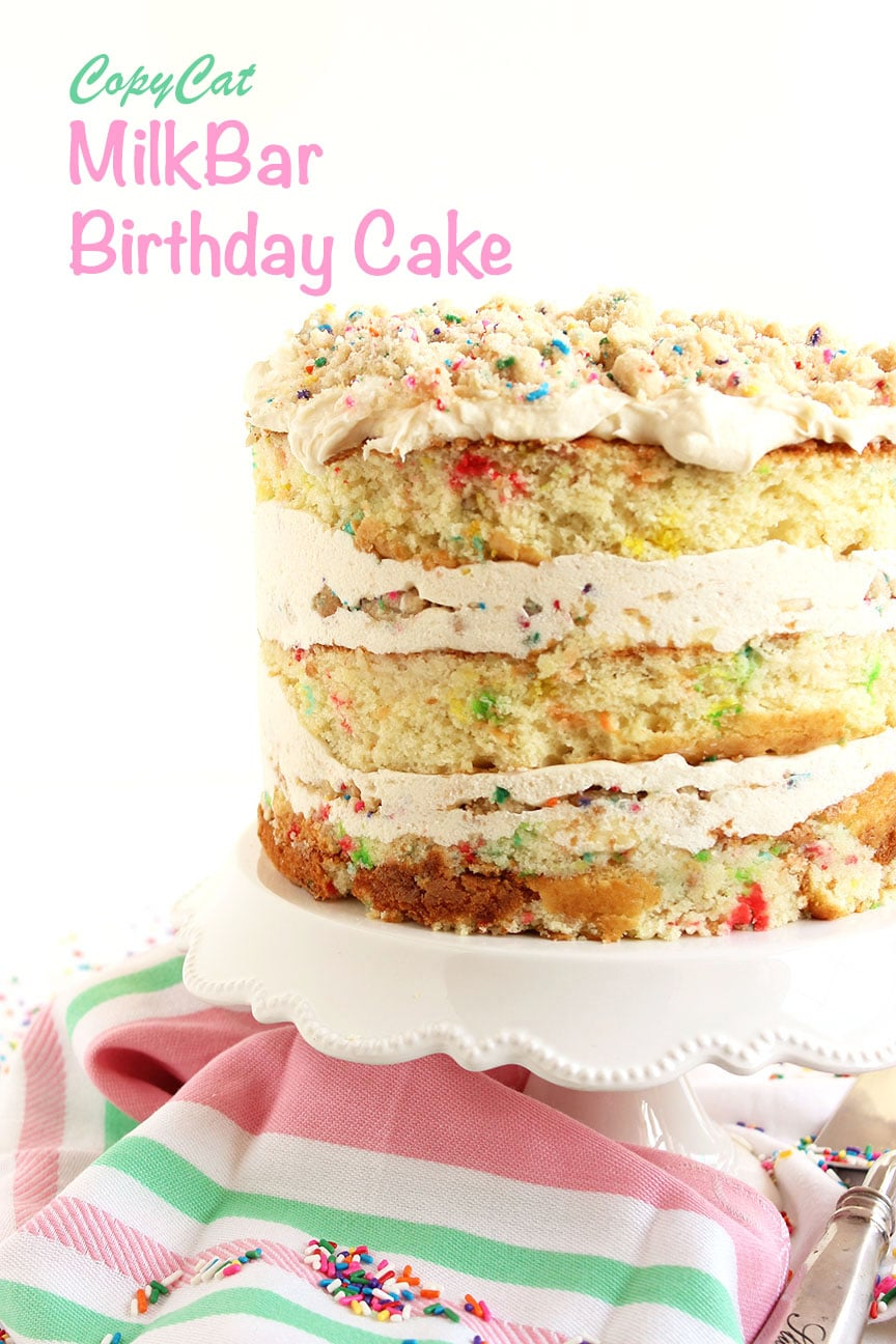 Outstanding Copycat Milk Bar Birthday Cake The Suburban Soapbox Personalised Birthday Cards Veneteletsinfo