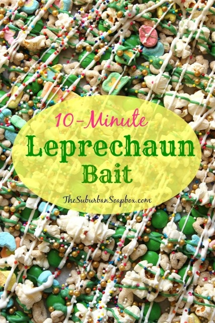 10-Minute Leprechaun Bait | The Suburban Soapbox #leprechaunbait #stpatricksday