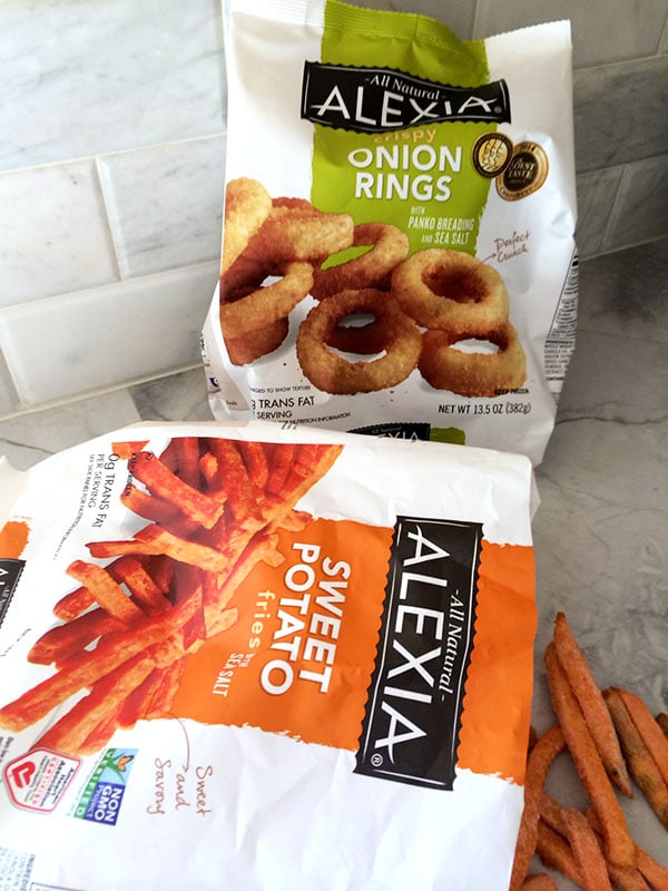Alexia Sweet Potato Fries and Onion Rings #SpringIntoFlavor