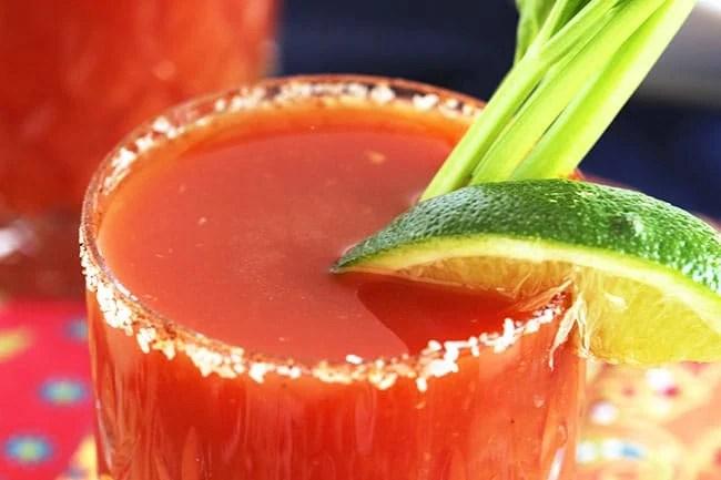 Bloody Margarita | The Suburban Soapbox #brunchweek #cincodemayo #margarita