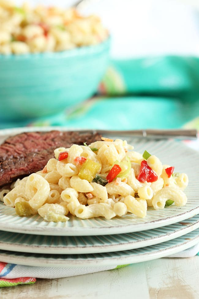 The Very Best Macaroni Salad | The Suburban Soapbox #BestMacaroniSalad