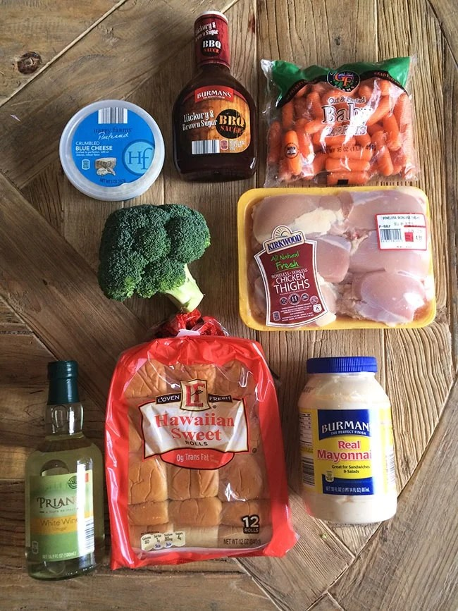 Ingredients from ALDI