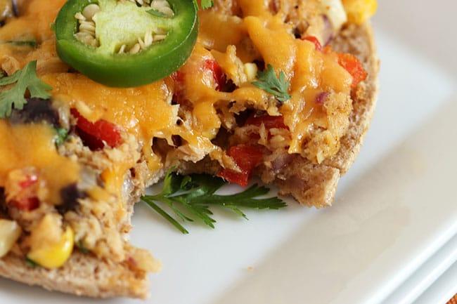 Southwestern Tuna Pizza | The Suburban Soapbox #tunastrong #cg