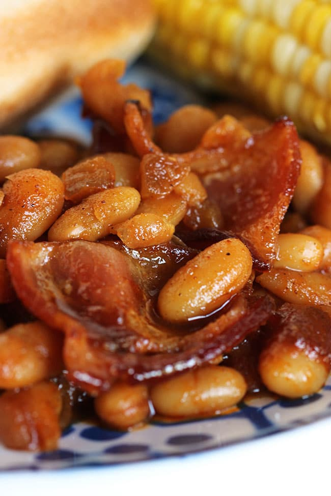 The Very Best Barbecue Baked Beans | The Suburban Soapbox #bestbakedbeans