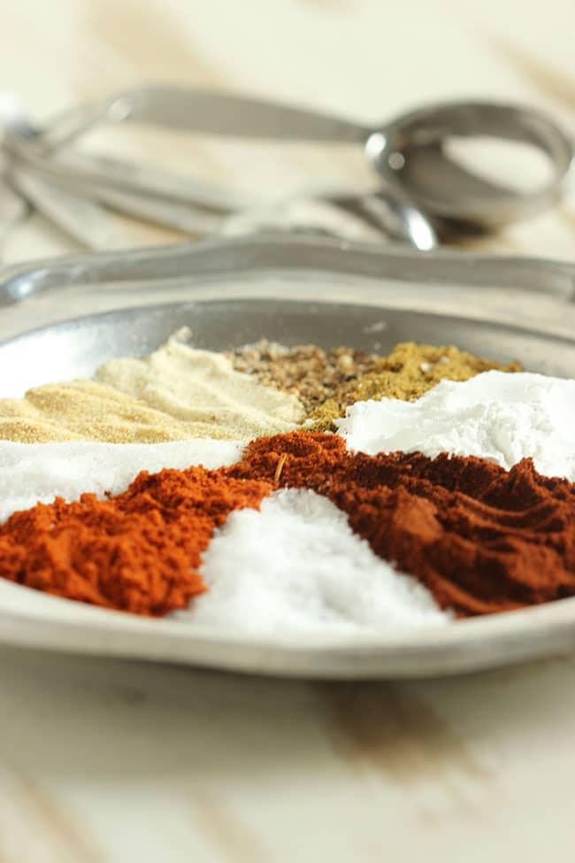 How to make fajita seasoning without cornstarch