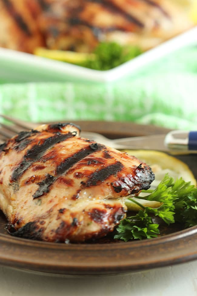 Country Style Ranch Grilled Chicken | The Suburban Soapbox #gatherroundgrilling