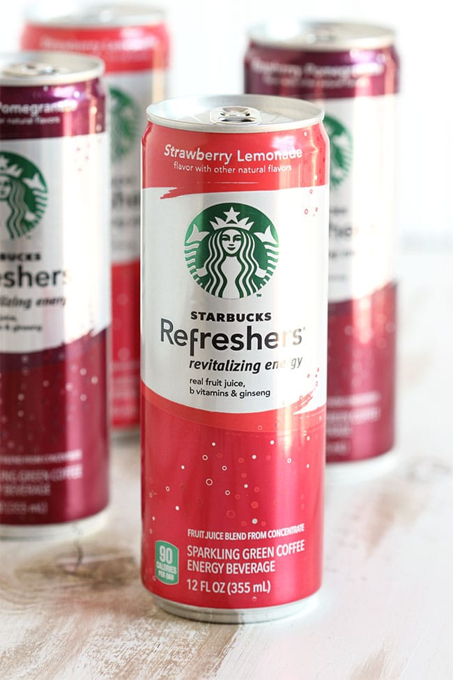 Starbucks Strawberry Lemonade Refreshers | The Suburban Soapbox